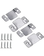 Sectional Couch Connector, Universal Sectional Sofa Connector Couch Bracket with Screws Interlocking Furniture Connector by Podoy,4 Pack