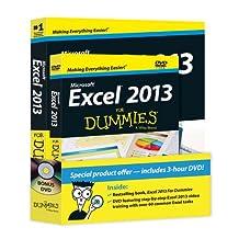 Excel 2013 For Dummies, Book + DVD Bundle