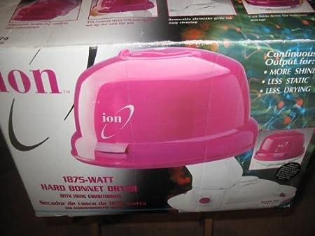 Amazon.com: Ion 1875 Watt Hard Bonnet Dryer: Beauty