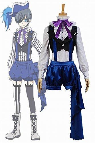 Zelda Midna Costume (Black Butler Kuroshitsuji 3 Earl Ciel Phantomhive Uniform Dress Cosplay Costume by UU-Style)