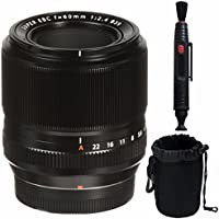 Fujifilm 60mm f/2.4 XF Macro Lens + SLR Lens Pouch + Lens Cleaning Pen Bundle 2