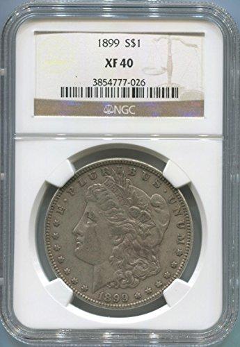 1899 P Morgan Dollar Dollar XF40 NGC