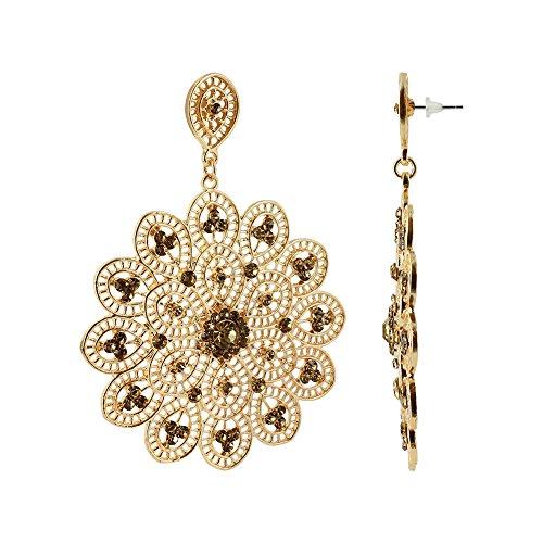 gem avenue earrings gold - 6