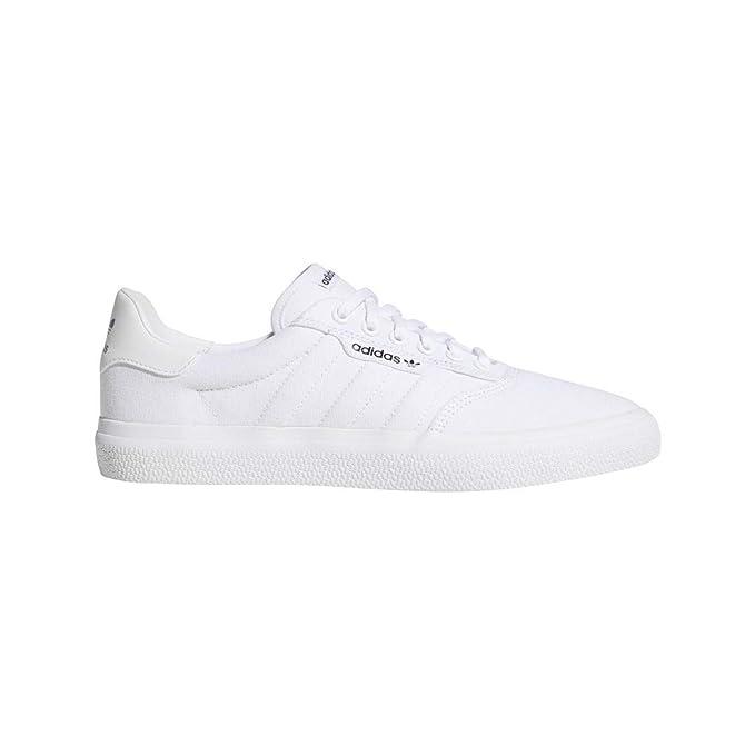 421a108638933 adidas Originals Unisex 3MC Vulc Fashion Sneakers, Footwear White ...