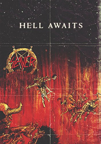 "Slayer ""Hell Awaits"" Retro Music Poster"