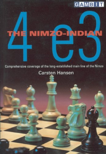 Download The Nimzo-Indian: 4 e3 pdf