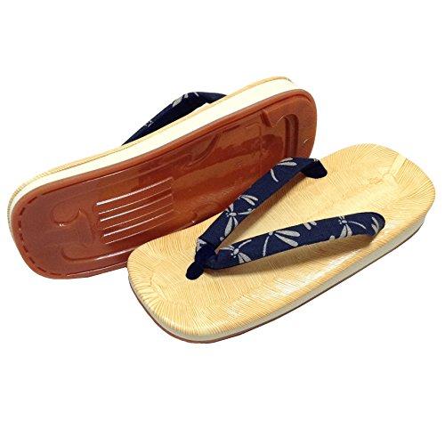 Edoten Made In Japan Setta Sandaler. Amezoko Tatami Gummisula. Färgade Rem. Stor Dragonfly01
