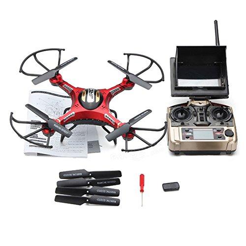 JJRC H8DH FPV Quadrocopter Drohne mit Kamera große Drone FPV-Bildschirm Höhehalte Live Video Übertragung Headless Modus 3D Flip 5.8G 2MP HD-Kamera eine Taste zum Rückkehr für Einsteiger (entwickelt von JJRC H8D)