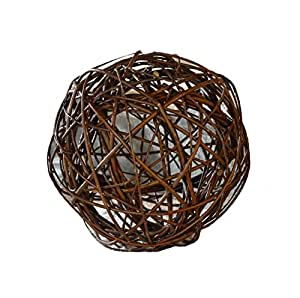 Ø 30cm natural mimbre V.I.P bola bola decorativa V.I.P Ball Bola Vides