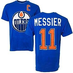 Edmonton Oilers Mark Messier Vintage NHL Alumni T-Shirt