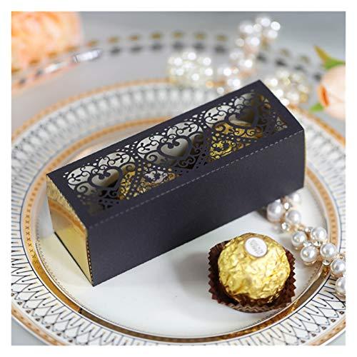 Liefde Hart Holle Gunsten Geschenken Candy Box voor Bruiloft Party Cupcake Chocolade Cake Dozen en Verpakking (Kleur…