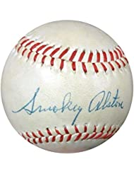 Walter Walt  quot;Smokey quot; Alston Autographed Signed OL Baseball Dodgers - PSA DNA Certified - A