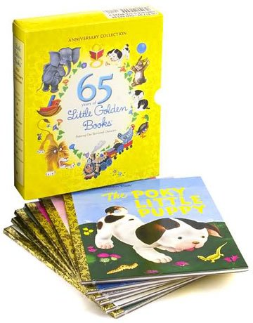 [The Ultimate Golden Books Collection (25 Volume Set): The Pokey Little Puppy; Scrawny Tawny Lion; Saggy Baggy Elephant; Disney Three Little Pigs; Raggedy Anne; Peter Cotton Tail (Book Sets for Children : Little Golden] (Peter Cotton Tail)