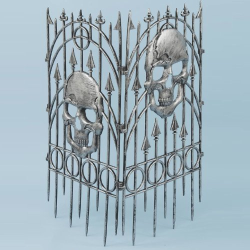 picture of 2pc Silver Skull Fence (Standard)