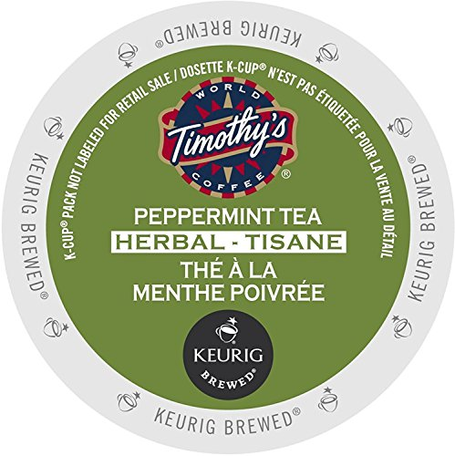 (Timothy's Peppermint Tea - K Cups 24 Ct)