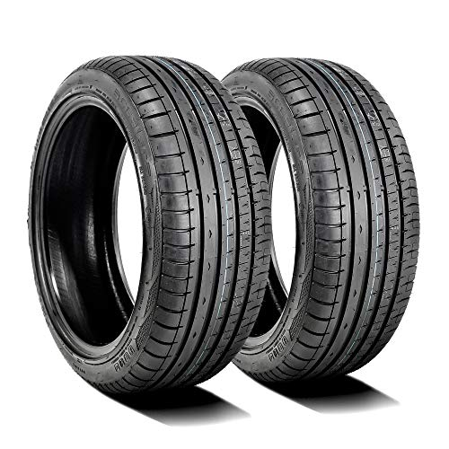 Set of 2 (TWO) Accelera Phi-R High Performance All-Season Radial Tires-245/50ZR18 104W XL (Tires 245 50 18)