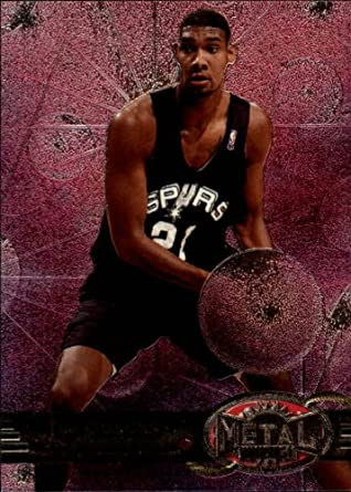 Amazoncom 1997 Metal Universe Basketball Rookie Card 1997