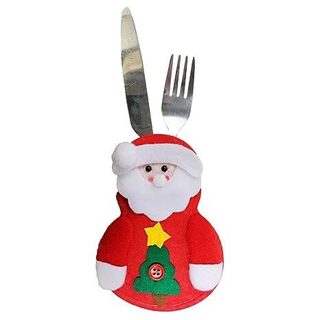 4 pieza Soporte Bolsa Navidad Accesorios para cuchillo y ...