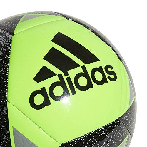 adidas Starlancer V Soccer Ball, Dark Green, Size 3