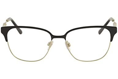 44f93a0cad Burberry Women s BE1313Q Eyeglasses Black Light Gold 53mm at Amazon Women s  Clothing store