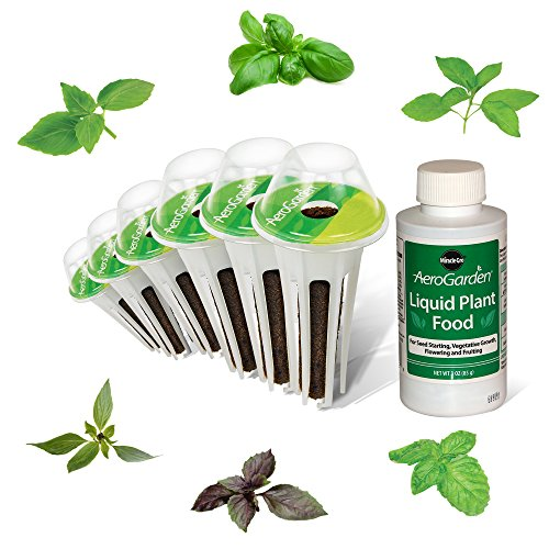 AeroGarden International Basil Seed Pod Kit (6-Pod) by AeroGrow