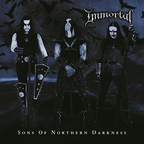 Cassette : Immortal - Sons Of Northern Darkness (Blue)