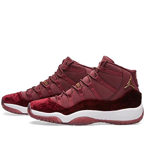 de Night Gold Maroon Night Maroon Zapatillas 650 Metallic Rojo para 852625 Mujer Baloncesto Nike CtqR7PU