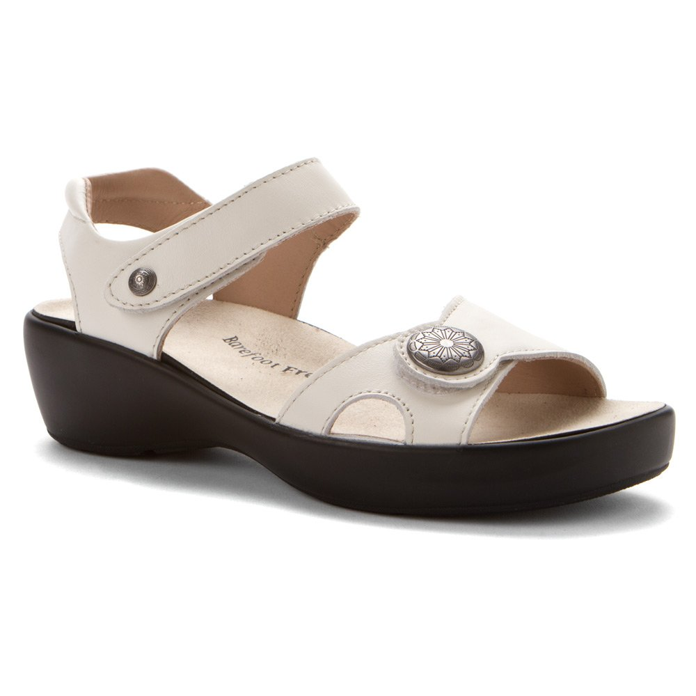 Drew Women's Andi Sandals B00JQSWQSG 10 C/D US|Sport White Smooth Leather