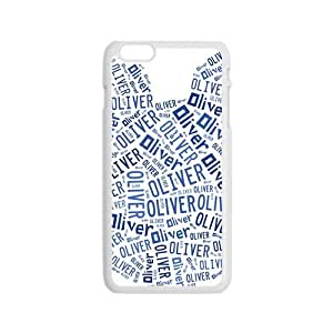 Oliver Lovely blue bear head Cell Phone Case for Iphone 6