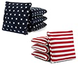 Tailgating Pros Cornhole Bags - 8 Regulation Size Corn Hole Bags - 25+ Colors Options