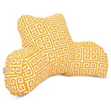 Majestic Home Goods Towers Reading Pillow, Citrus