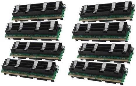 Gigaram 4GB 8x512MB DDR2-800 ECC Fully Buffered DIMM for Apple Mac Pro 8-Core//Quad-Core 2.8Ghz Apple# 4 x MB191G//A