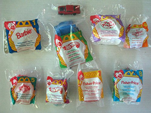 McDonald's Happy Meal Toys Complete Set of 8 - Vintage ...
