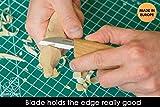 "BeaverCraft Cutting Knife C2 6.5"" Whittling Knife"