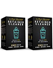 MySmile Denture Cleaning Tablets, Retainer Cleaner Removes Bad Odor, Plaque, Stains from Dentures, Retainers, Mouth Guard and Dental Appliances, Denture Cleaner Tablets, Made In USA