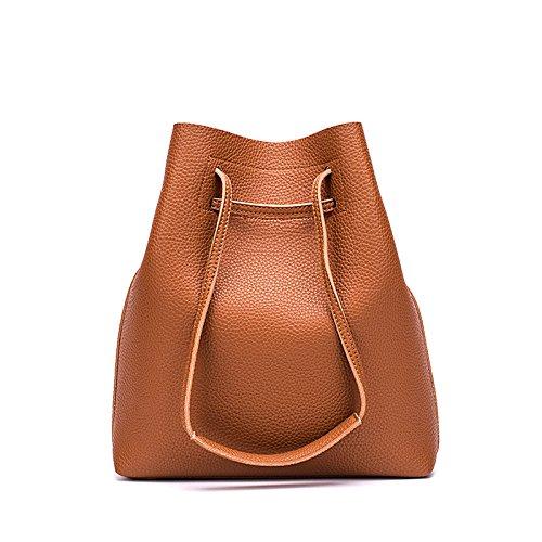 Compuesto Brown De Capacidad Portátil Gran GUANGMING77 Bolsa Negro Bolsa xwHU11qA