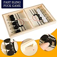 Funpeny Fast Sling Puck Game, Sling Shot Game Toy for Kids and Adults