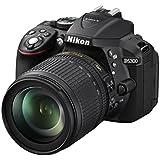 Nikon D5300 DSLR Camera with 18-105mm Lens (Black) - International Version (No Warranty)