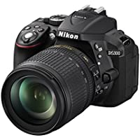 Nikon D5300 DSLR Camera with 18-105mm Lens (Black) - International Version (No Warranty)