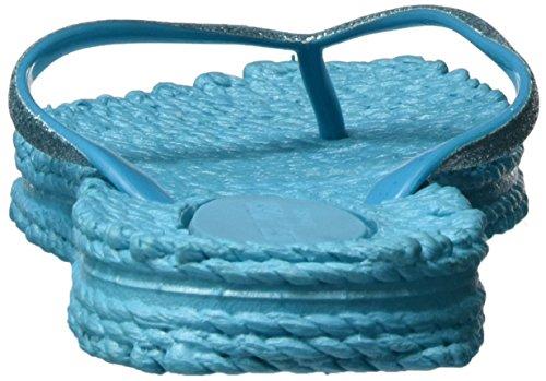 ILSE JACOBSEN Cheerful01 - Chanclas de caucho para mujer Azul (Black/dark Grey/gum)