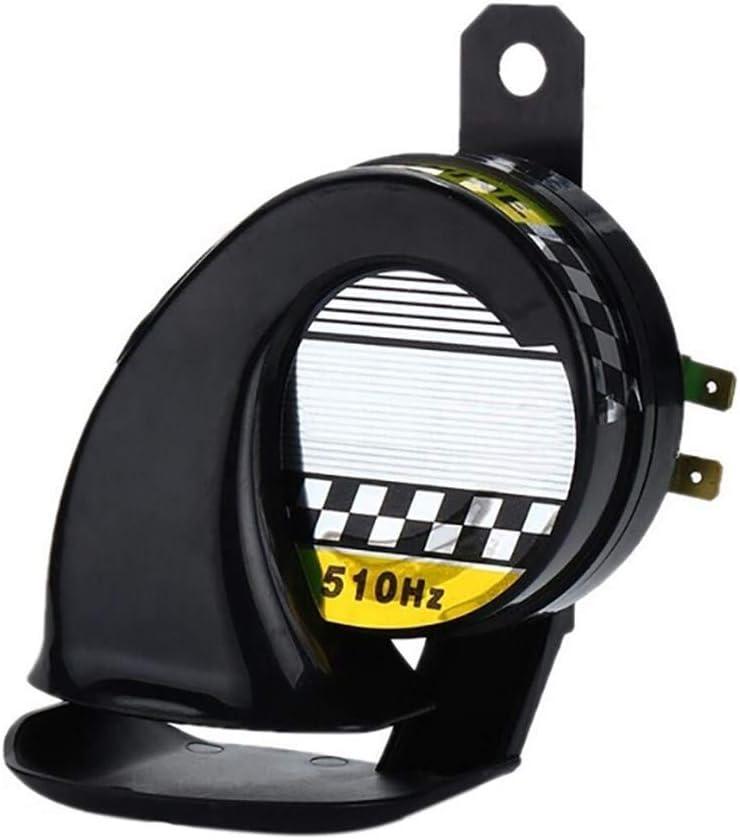 universeller elektrischer Lufthornlautsprecher f/ür Auto-Motorrad-LKWs SUV-LKWs Bus und Boote 12V DC Schneckenlufthupe Wasserdichte laute Schneckenluftsirene 130DB