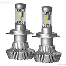 PIAA 26-17304 White H4 Platinum LED Bulb Kit, 4000 lm (25W - 2 Yr Warranty 6000K (9003 / HB2)