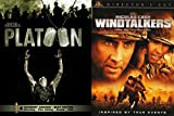 War Classics Bundle - Platoon & Windtalkers 2-DVD Set Double Feature Military movies