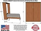 Queen Size Deluxe Murphy Bed Kit, Vertical