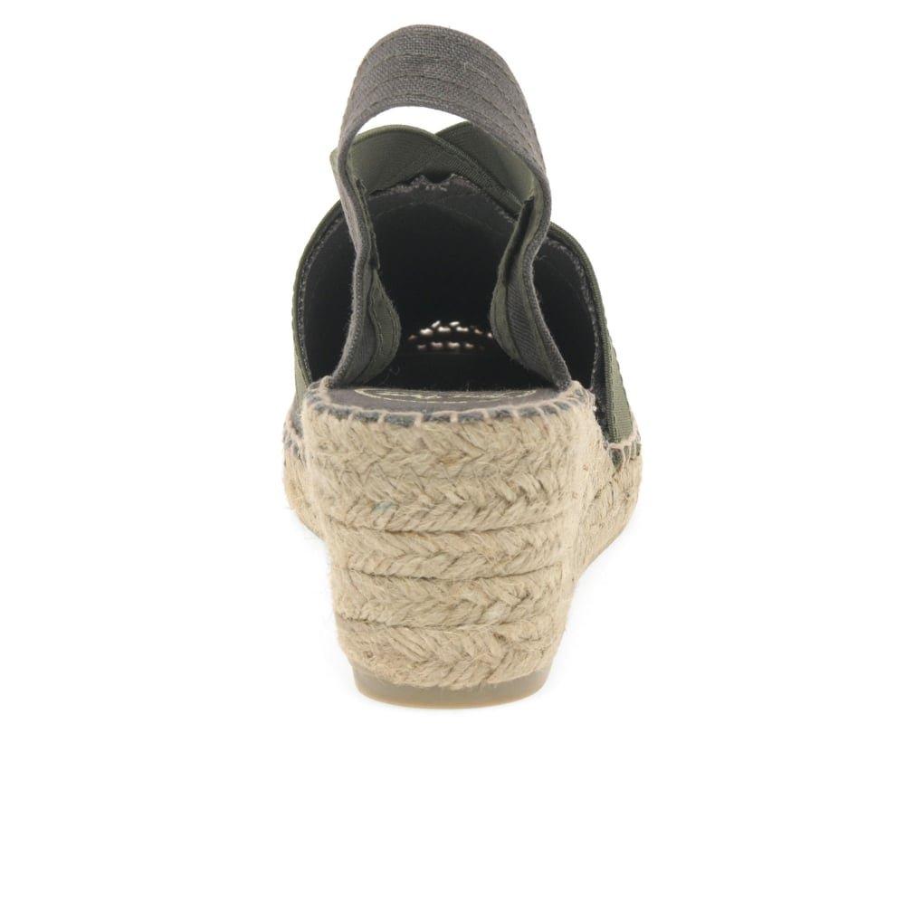 Toni Pons Women's 'TER' Fabric Espadrille B07B2XQRJL 40 C (M) EU/ 9.5 B(M) US|Khaki Linen