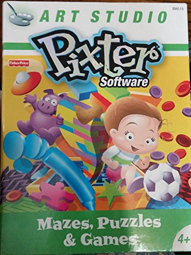 Pixter Deluxe Rom Mazes, Puzzles and Games