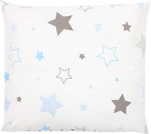 40 x 40 cm Martina Home Candy Star Funda de Coj/ín Azul Tela