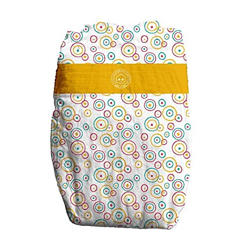 Little Toes Disposable Biodegradable Bamboo Diapers Monthly Value Pack (Medium, 180 Count)   Super Absorbent Natural Diapers for Babies 13-24 lbs  Hypoallergenic, Eco-Friendly, Soft & No Leaks (New) by Products On The Go (Image #2)