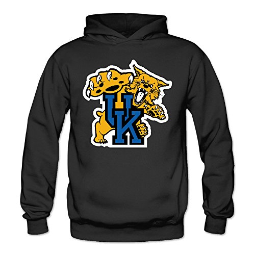 Price comparison product image Bro-Custom University Of Kentucky Wildcats UK Sweater For Women Size L Black