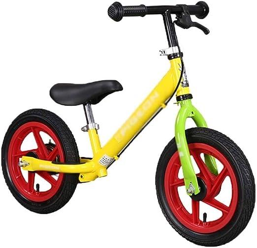 ZPBDC Bicicleta de los niños - Sport Bike Balance sin Pedal de ...